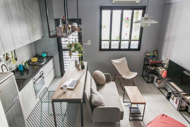 Cứ bố trí thông minh như căn hộ 30m² này thì sống tiện nghi trong nhà chật là hoàn toàn có thể - Ảnh 1.