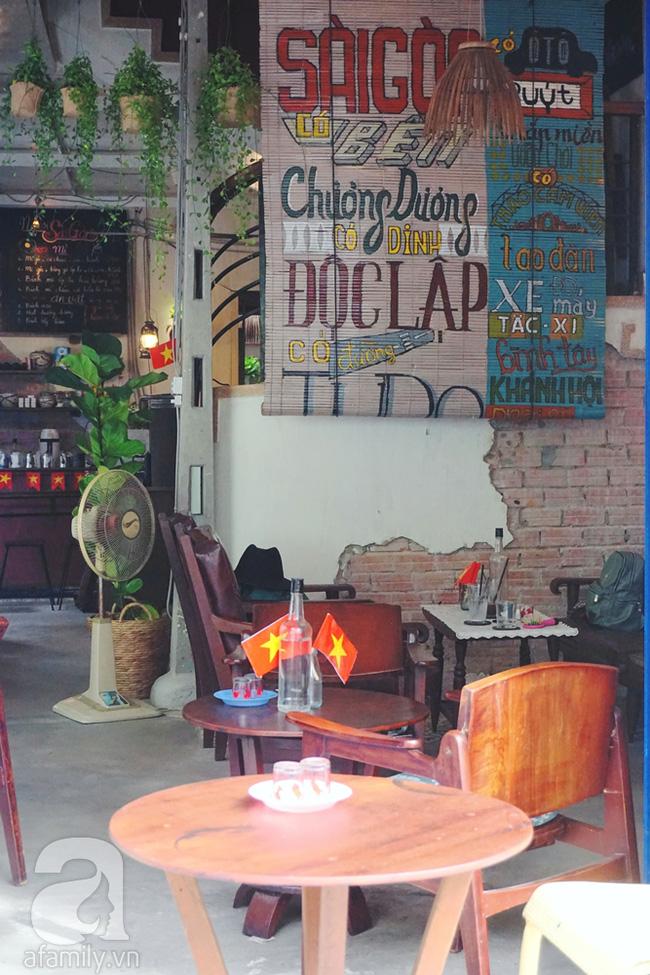 5 quán cà phê  ẩn mình trong hẻm vừa chất, vừa đẹp bất ngờ ở Sài Gòn - Ảnh 11.
