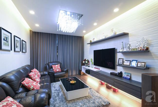 Căn hộ 120m² qua 3 năm sử dụng vẫn mới do cặp vợ chồng 8x tự tay thiết kế - Ảnh 1.