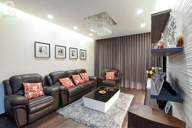Căn hộ 120m² qua 3 năm sử dụng vẫn mới do cặp vợ chồng 8x tự tay thiết kế - Ảnh 2.