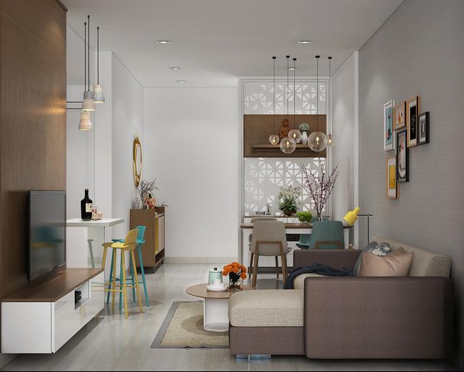 Thiết kế xinh yêu, hợp lý thế này thì căn hộ nhỏ cũng dư sức khiến bạn yêu từ cái nhìn đầu tiên - Ảnh 2.