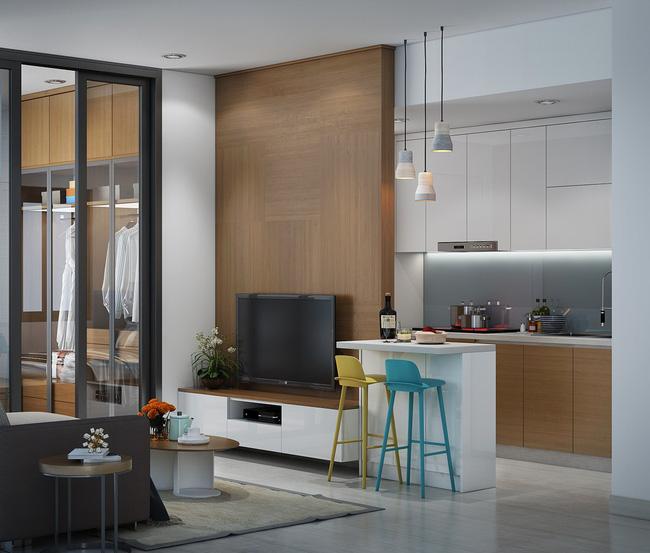 Thiết kế xinh yêu, hợp lý thế này thì căn hộ nhỏ cũng dư sức khiến bạn yêu từ cái nhìn đầu tiên - Ảnh 4.