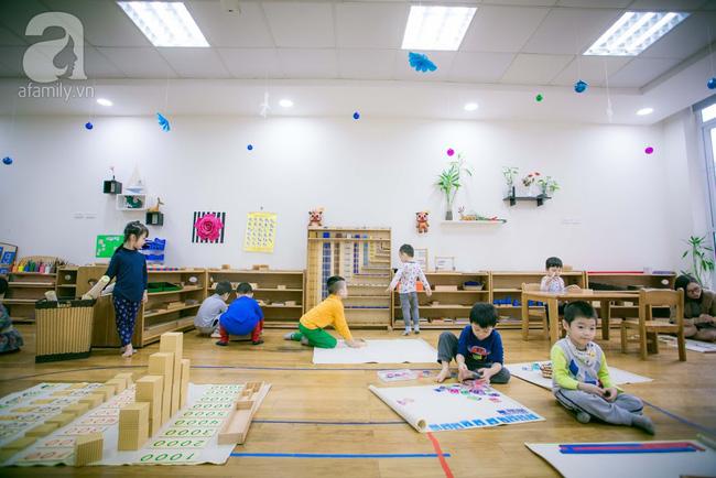 Trường mẫu giáo đầy ánh sáng và cây xanh đốn tim phụ huynh ngay từ cái nhìn đầu tiên - Ảnh 8.