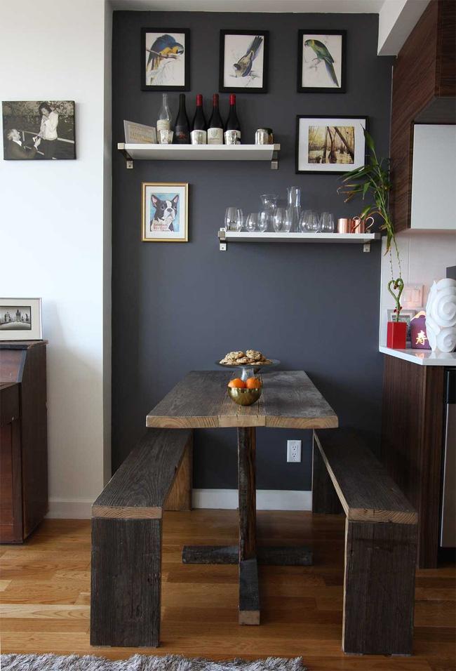 4 mẫu bàn ăn nhỏ nhưng có võ, cực dễ kiếm và dễ ứng dụng cho nhà chật - Ảnh 4.