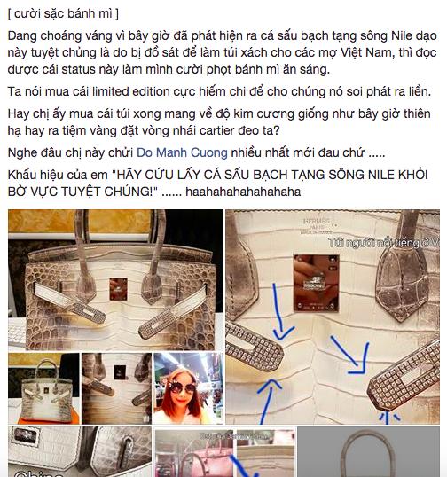 Bị tố dùng hàng fake, Hoa hậu Hải Dương - chủ nhân chiếc Birkin giá 5 tỷ đồng xin miễn đôi co - Ảnh 1.