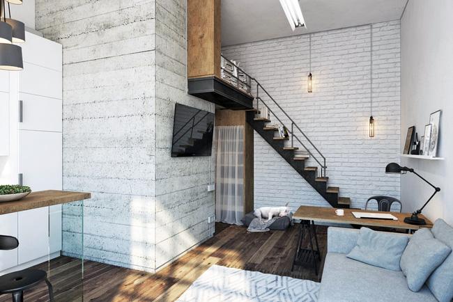 Chưa đầy 27m², chẳng đầu tư đồ trang trí, căn hộ này vẫn khiến nhiều người phải trầm trồ - Ảnh 3.