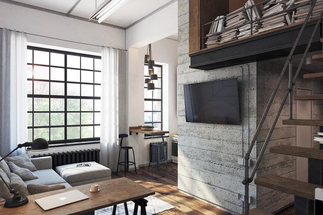 Chưa đầy 27m², chẳng đầu tư đồ trang trí, căn hộ này vẫn khiến nhiều người phải trầm trồ - Ảnh 2.