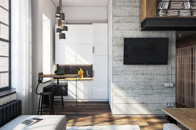 Chưa đầy 27m², chẳng đầu tư đồ trang trí, căn hộ này vẫn khiến nhiều người phải trầm trồ - Ảnh 5.