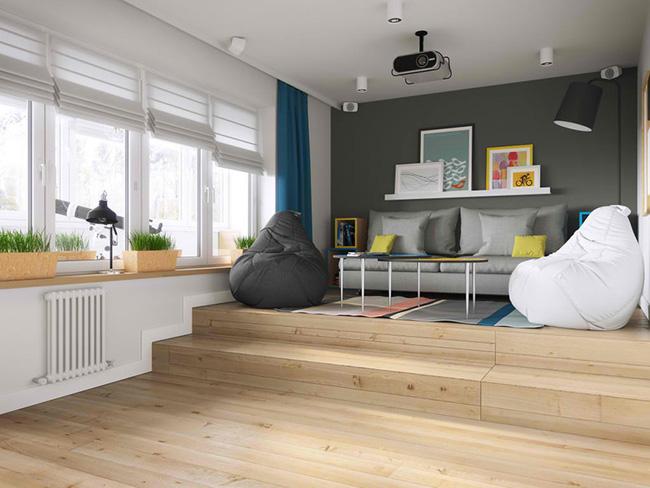 Vỏn vẹn 34m² nhưng căn hộ này minh chứng hùng hồn nhất cho việc nhà chật vẫn đẹp miễn chê - Ảnh 1.