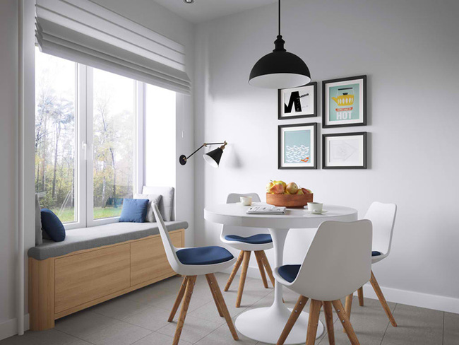 Vỏn vẹn 34m² nhưng căn hộ này minh chứng hùng hồn nhất cho việc nhà chật vẫn đẹp miễn chê - Ảnh 8.