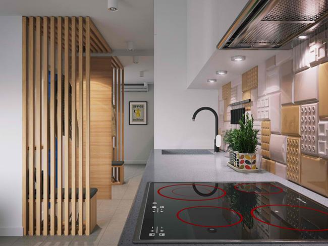 Vỏn vẹn 34m² nhưng căn hộ này minh chứng hùng hồn nhất cho việc nhà chật vẫn đẹp miễn chê - Ảnh 7.