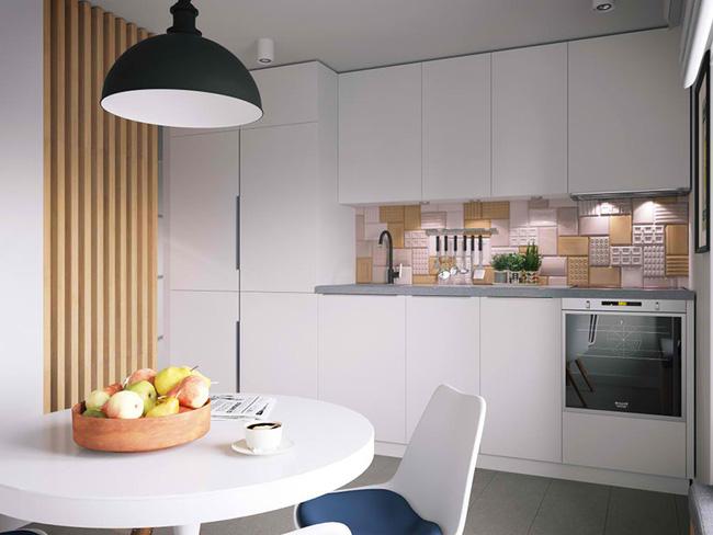Vỏn vẹn 34m² nhưng căn hộ này minh chứng hùng hồn nhất cho việc nhà chật vẫn đẹp miễn chê - Ảnh 6.