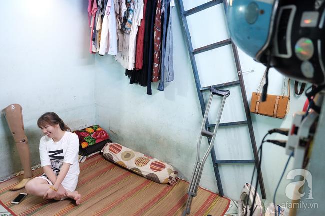 Cô gái 1 chân xinh đẹp: Em cố tiết kiệm tiền để đưa hai em bị mù sang nước ngoài chữa bệnh - Ảnh 3.