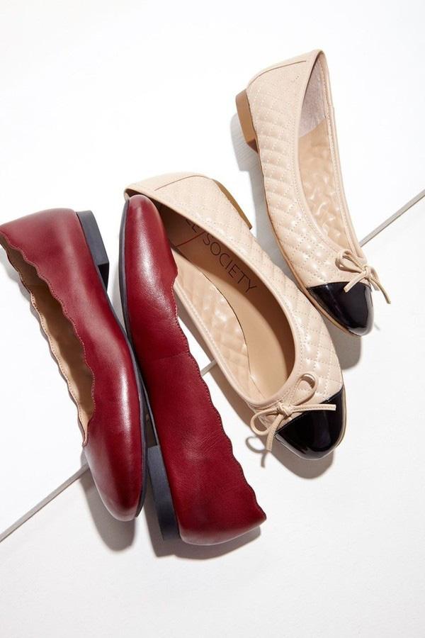 Những mẫu giày bệt thoải mái cho ngày nàng công sở quá mệt mỏi vì giày cao gót - Ảnh 2.