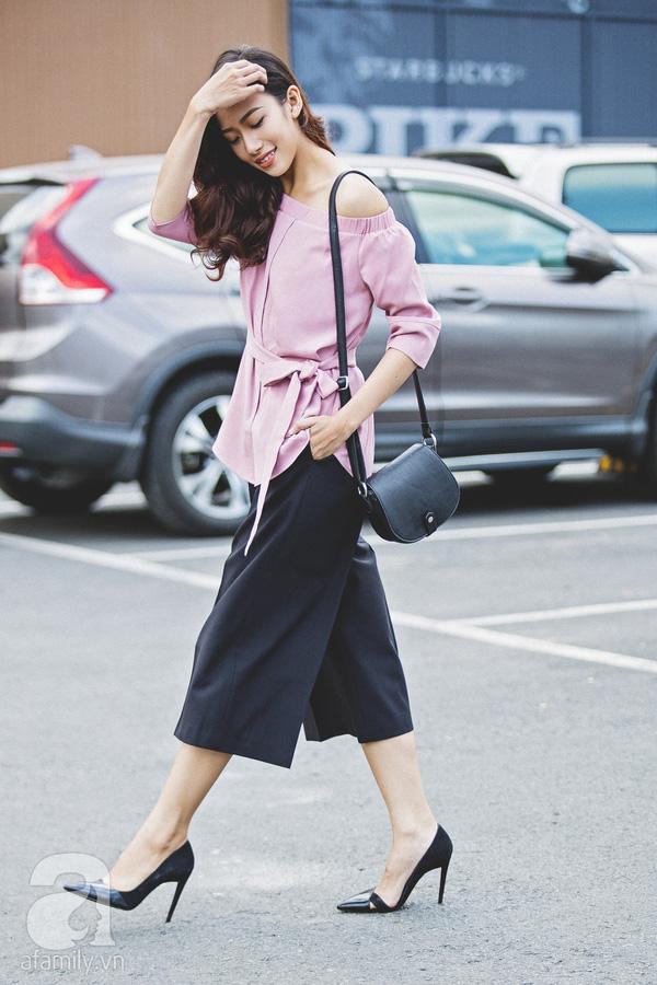 Diện quần dài vào mủa nắng nóng sẽ không còn là nỗi ám ảnh nhờ những mẫu quần jeans, quần vải này - Ảnh 5.