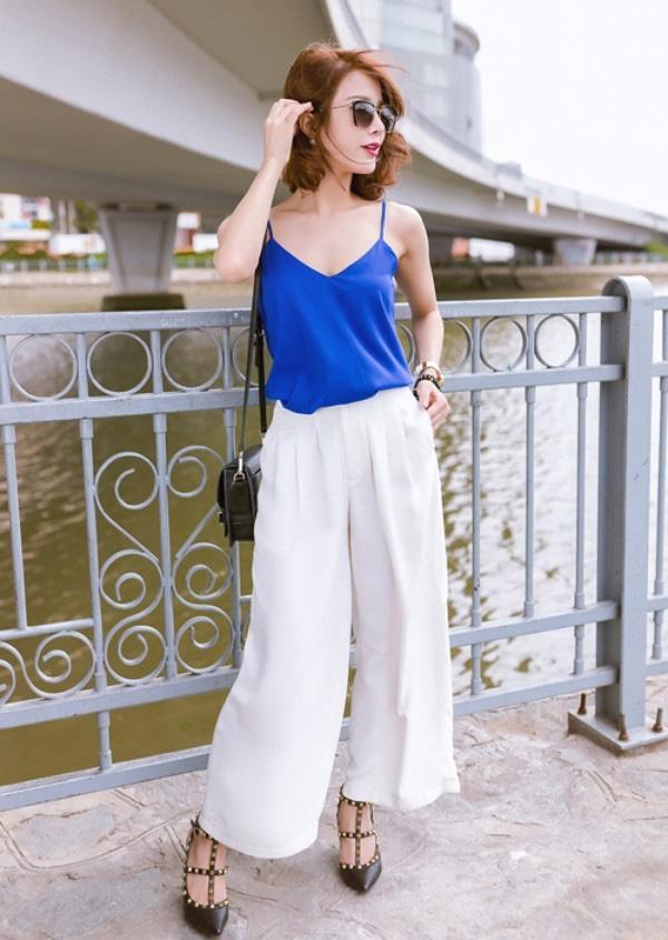 Diện quần dài vào mủa nắng nóng sẽ không còn là nỗi ám ảnh nhờ những mẫu quần jeans, quần vải này - Ảnh 6.