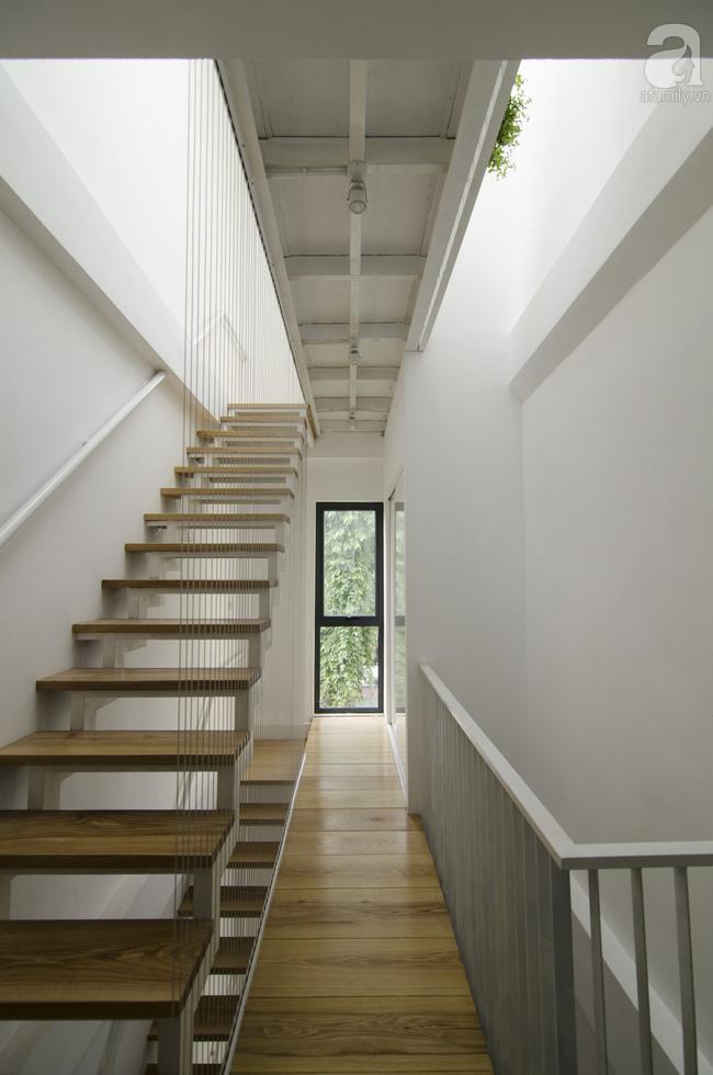 Ngôi nhà 27m² ở Hà Nội: Từ chiếc hộp đóng kín thành tổ ấm thoáng, xanh, đầy cảm hứng của vợ chồng trẻ - Ảnh 15.