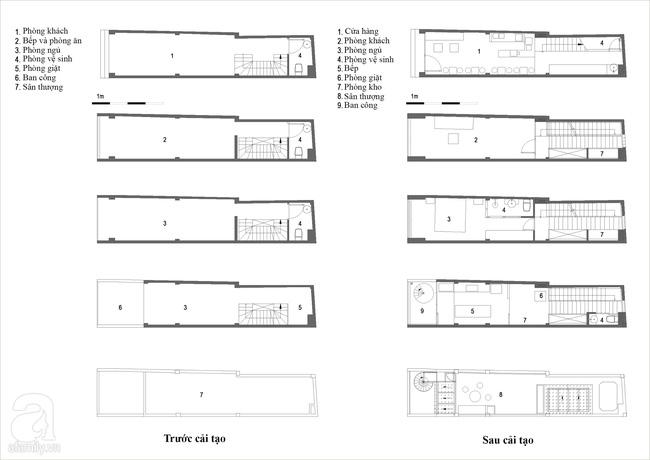Ngôi nhà 27m² ở Hà Nội: Từ chiếc hộp đóng kín thành tổ ấm thoáng, xanh, đầy cảm hứng của vợ chồng trẻ - Ảnh 19.