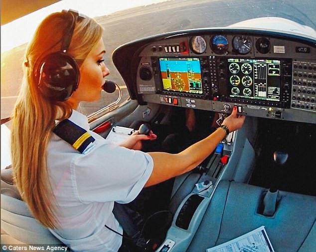 Cuộc sống đáng mơ ước của nữ phi công 9X - Ảnh 3.