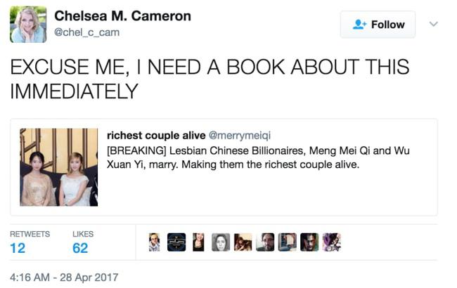 Cộng đồng mạng xôn xao câu chuyện cặp tỷ phú đồng tính Trung Quốc kết hôn, nhưng sự thật đằng sau không ai ngờ... - Ảnh 2.