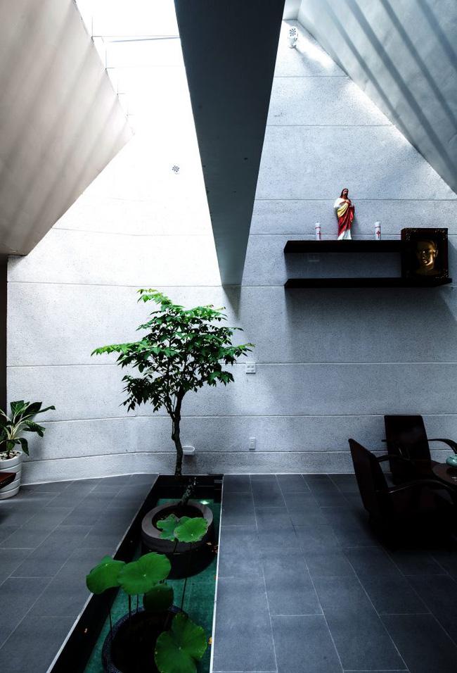 Ngôi nhà 200m² lấy cảm hứng thiết kế từ hang Sơn Đoòng ở Vĩnh Long nổi bật trên báo Mỹ - Ảnh 8.