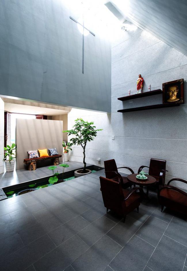 Ngôi nhà 200m² lấy cảm hứng thiết kế từ hang Sơn Đoòng ở Vĩnh Long nổi bật trên báo Mỹ - Ảnh 5.