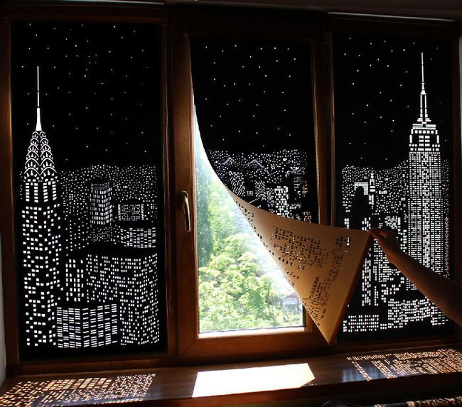Rèm cửa đục lỗ - món phụ kiện cho bạn cảm giác như sống ở penthouse   - Ảnh 2.