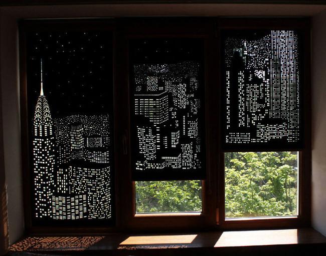 Rèm cửa đục lỗ - món phụ kiện cho bạn cảm giác như sống ở penthouse   - Ảnh 3.