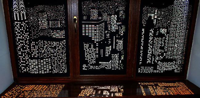 Rèm cửa đục lỗ - món phụ kiện cho bạn cảm giác như sống ở penthouse   - Ảnh 6.