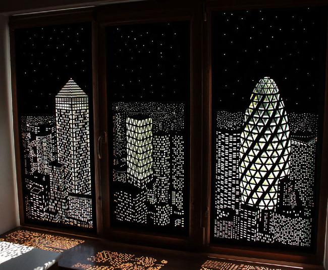 Rèm cửa đục lỗ - món phụ kiện cho bạn cảm giác như sống ở penthouse   - Ảnh 4.