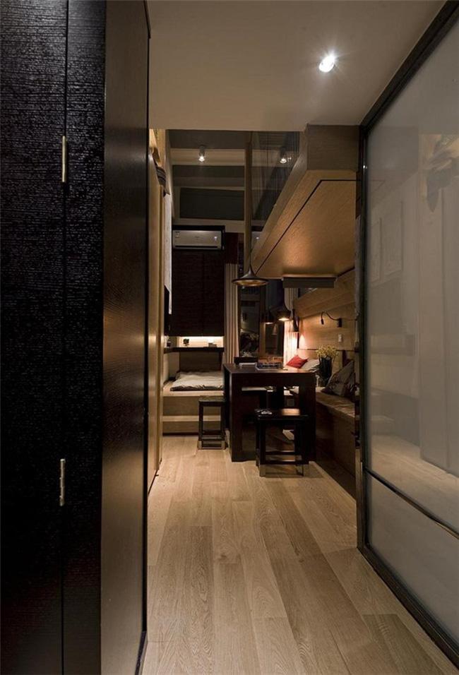 Cải tạo căn hộ 14m² thành không gian đẹp ngất ngây với 3 phòng ngủ tiện dụng - Ảnh 1.
