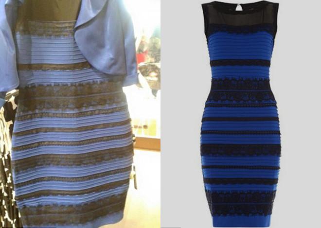 Какой цвет платья вы видите