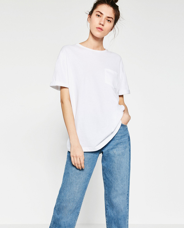 Chỉ là áo phông trắng thôi, nhưng nó diện với món đồ nào cũng đẹp - Ảnh 3.