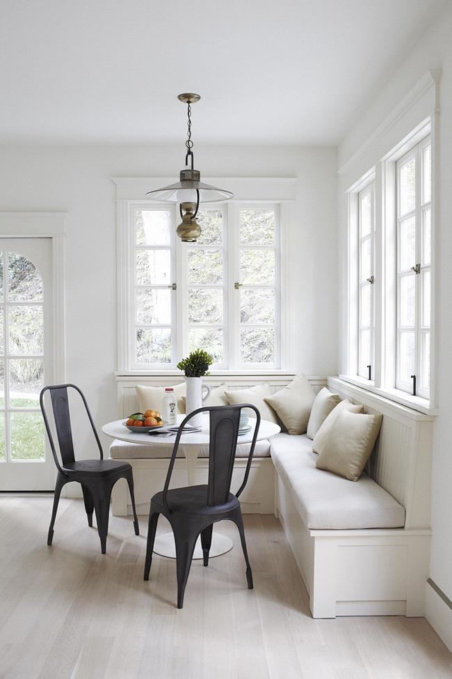 29 mẫu bàn ghế ăn khiến phòng ăn nhà bạn từ nhỏ hóa rộng thênh thang - Ảnh 2.