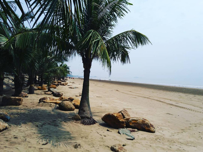 5 bãi biển vừa không cần bon chen đông đúc, vừa thoải mái đi về trong 2 ngày cuối tuần gần Hà Nội - Ảnh 8.