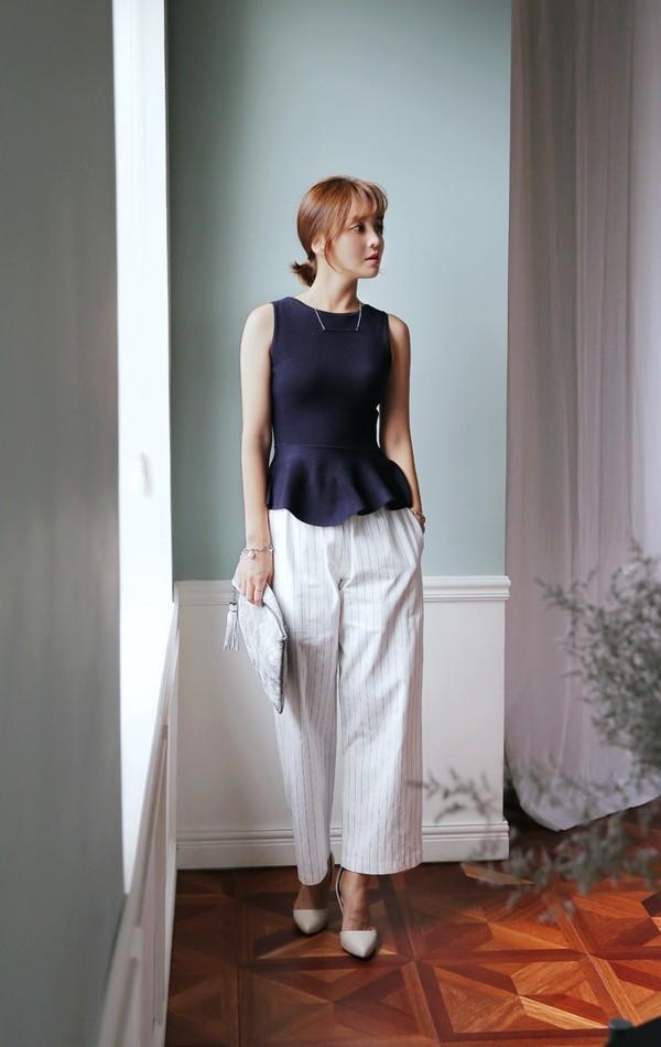 Cả tuần mặc đẹp với quần culottes - chiếc quần chưa bao giờ hết hot đối với nàng công sở - Ảnh 5.
