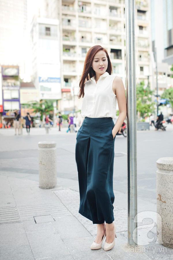 Cả tuần mặc đẹp với quần culottes - chiếc quần chưa bao giờ hết hot đối với nàng công sở - Ảnh 9.