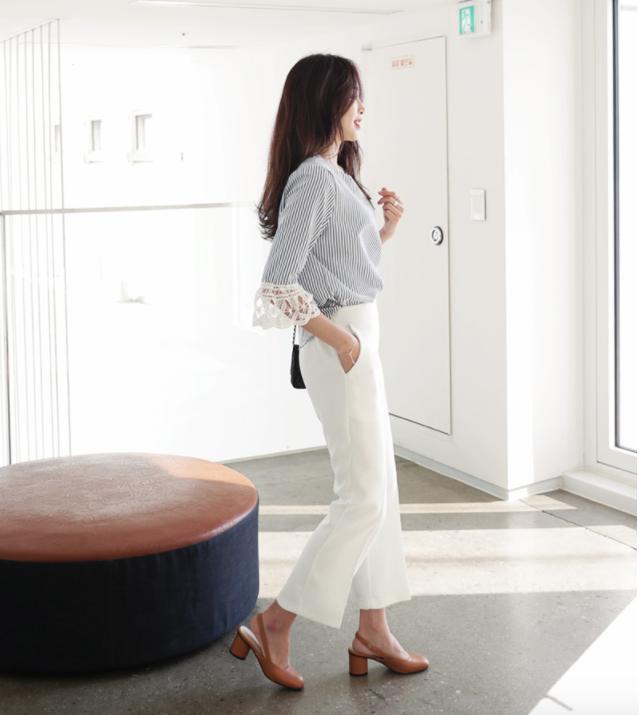 Cả tuần mặc đẹp với quần culottes - chiếc quần chưa bao giờ hết hot đối với nàng công sở - Ảnh 14.