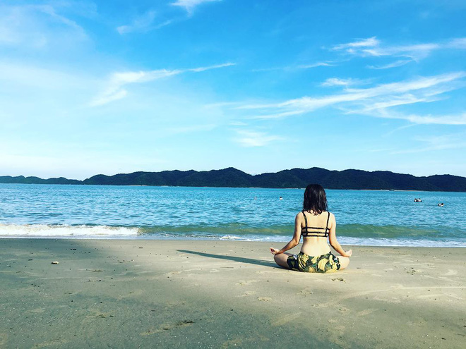5 bãi biển vừa không cần bon chen đông đúc, vừa thoải mái đi về trong 2 ngày cuối tuần gần Hà Nội - Ảnh 16.