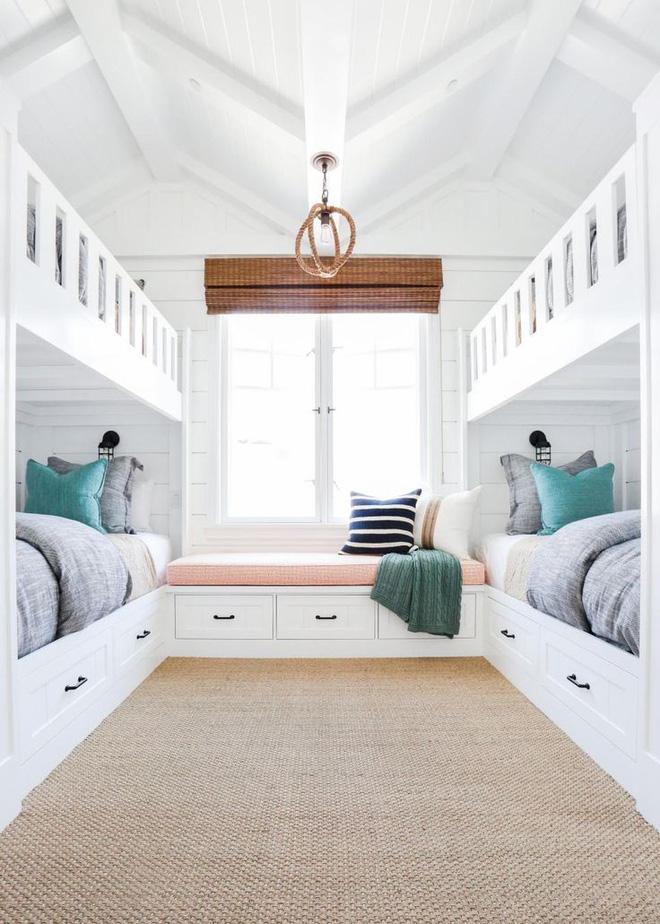 11 mẫu giường tầng đẹp, gọn cực đáng tham khảo cho những gia đình nhà chật mà đông con - Ảnh 8.