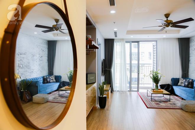 Chỉ với 300 triệu đồng, vợ chồng 8x đã biến căn hộ 76m² thành nơi nghỉ dưỡng cuối tuần ngay tại Hà Nội - Ảnh 2.