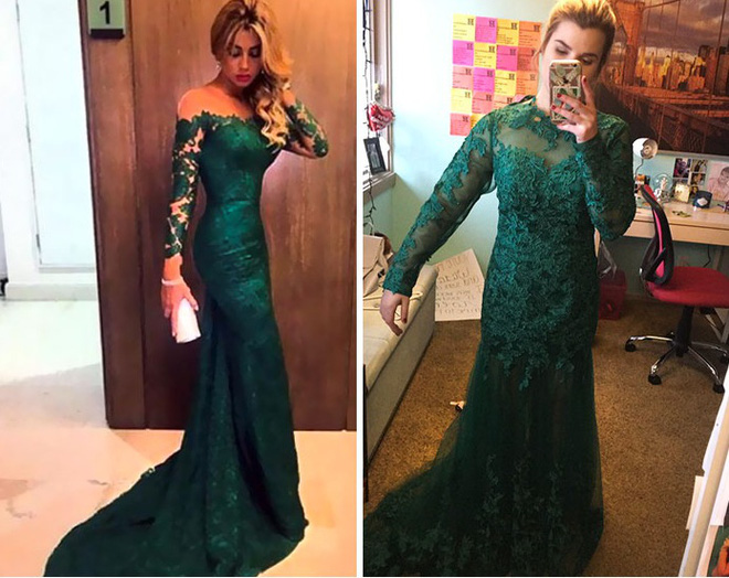 Những bộ váy prom thảm họa mua online biến công chúa thành phù thủy trong chớp mắt - Ảnh 3.