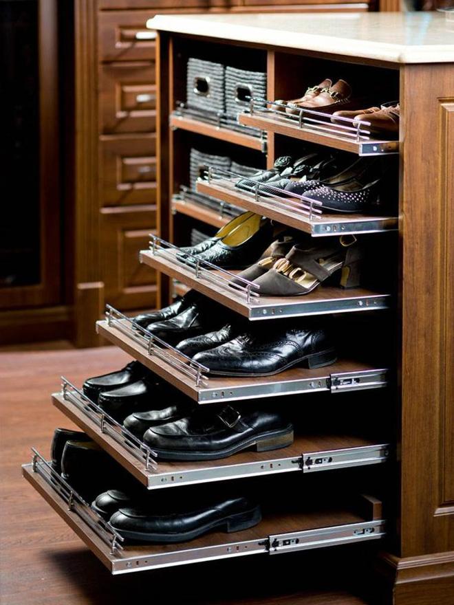 5 mẫu tủ giày nhỏ mà có võ cực tối ưu cho không gian nhà nhỏ - Ảnh 2.