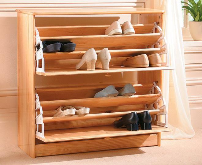 5 mẫu tủ giày nhỏ mà có võ cực tối ưu cho không gian nhà nhỏ - Ảnh 4.