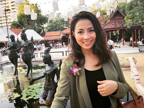Hình ảnh không có trên truyền hình của BTV Lê Hằng - Ảnh 1.