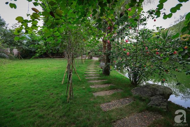 Nhà vườn xanh mát bóng cây, hoa nở đẹp cách Hà Nội 45 phút chạy xe - Ảnh 1