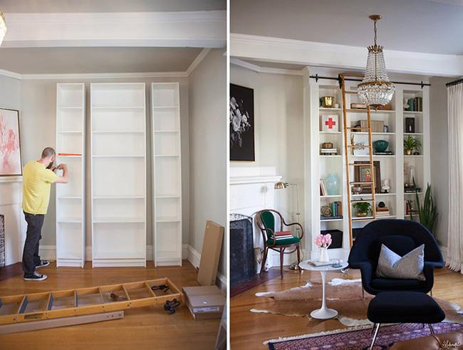 7 cách hay giúp bạn tận dụng tối đa phòng khách để lưu trữ đồ - Ảnh 1.