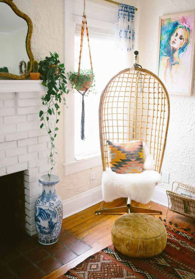 Ghế treo - Món nội thất chỉ góp mặt là nhà đã có ngay góc nghỉ dưỡng tuyệt vời - Ảnh 3.