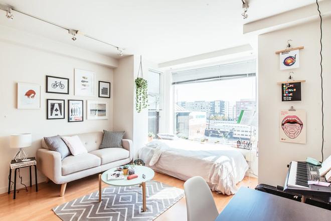8 mẫu sofa nhỏ đẹp long lanh mà cực hợp cho nhà chật - Ảnh 5.