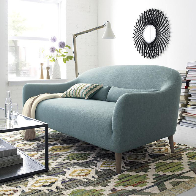8 mẫu sofa nhỏ đẹp long lanh mà cực hợp cho nhà chật - Ảnh 6.